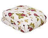 Одеяло закрытое овечья шерсть (Бязь) Двуспальное T-51309, фото 4