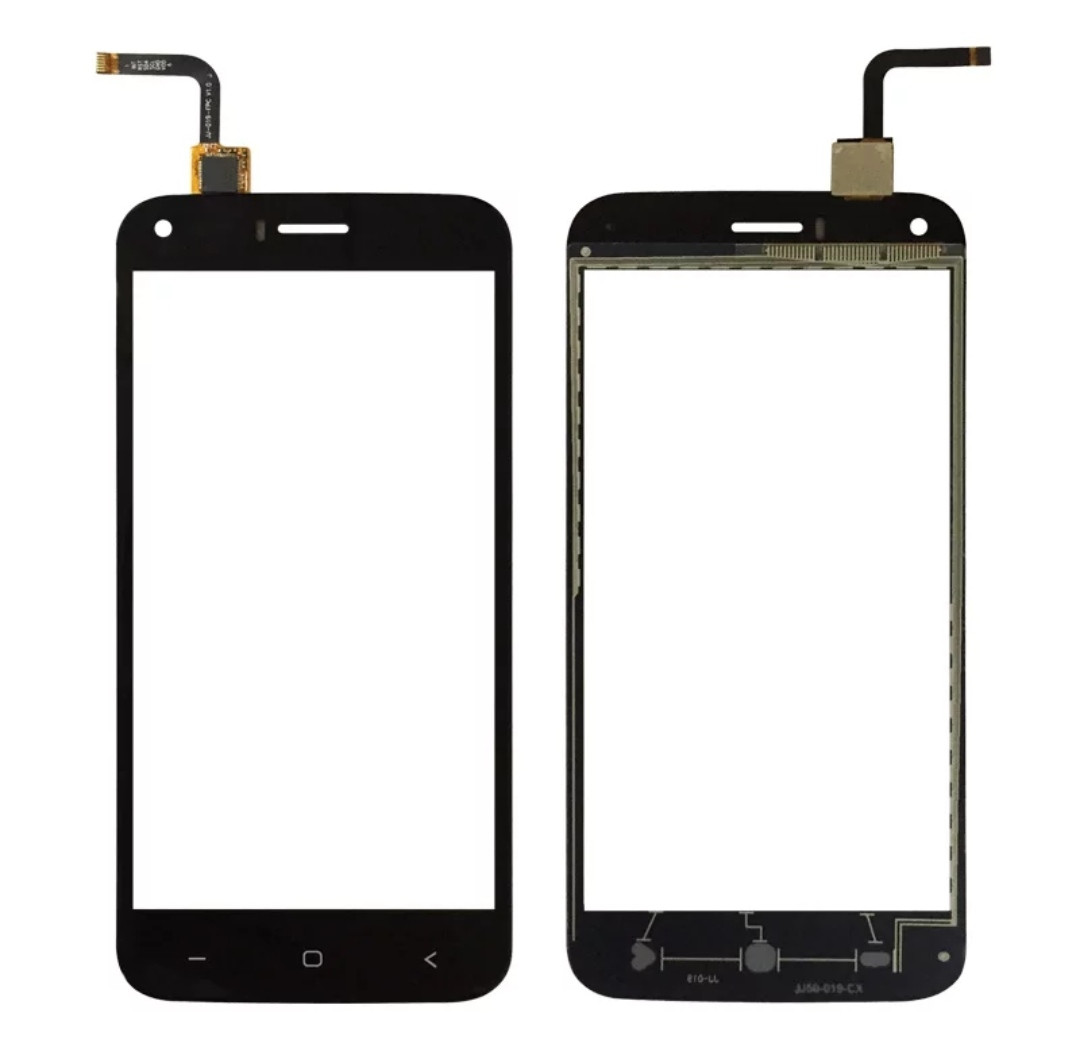 Touchscreen (сенсор) для Bravis A506 Чорний