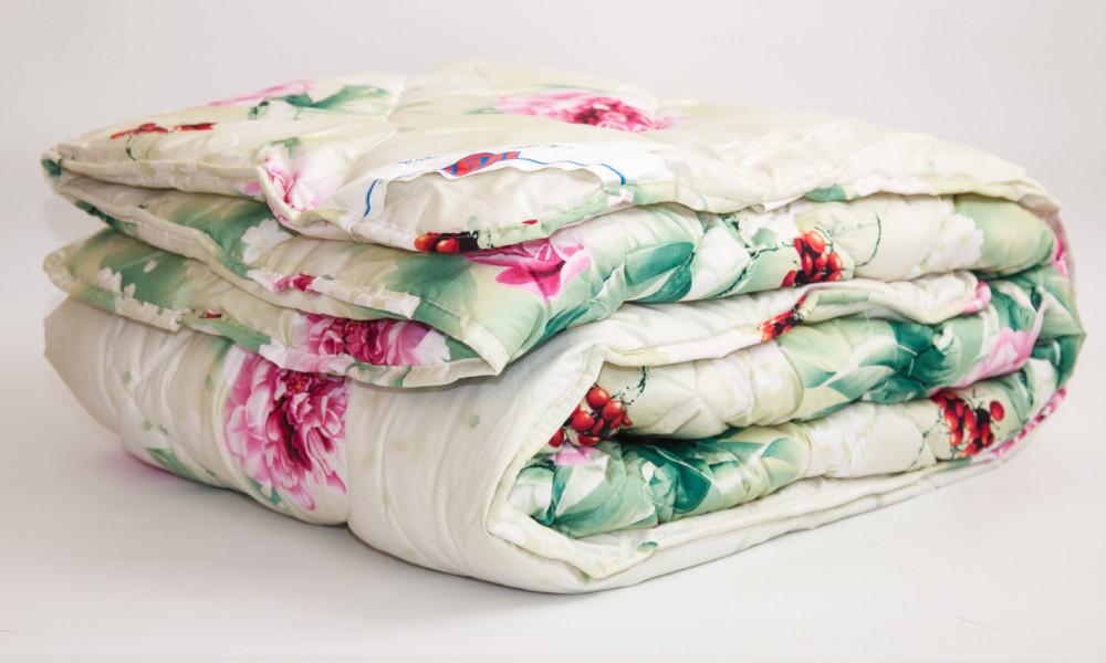 Одеяло закрытое овечья шерсть (Бязь) Двуспальное Евро T-51279