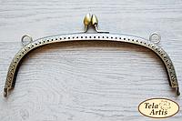 Арочный фермуар, бронза, без ручки А21-2