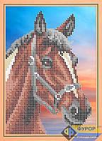 Схема для вышивки бисером - Лошадка, Арт. ДБч5-077