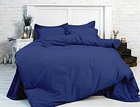 Комплект однотонного постельного белья из сатина, разные цвета