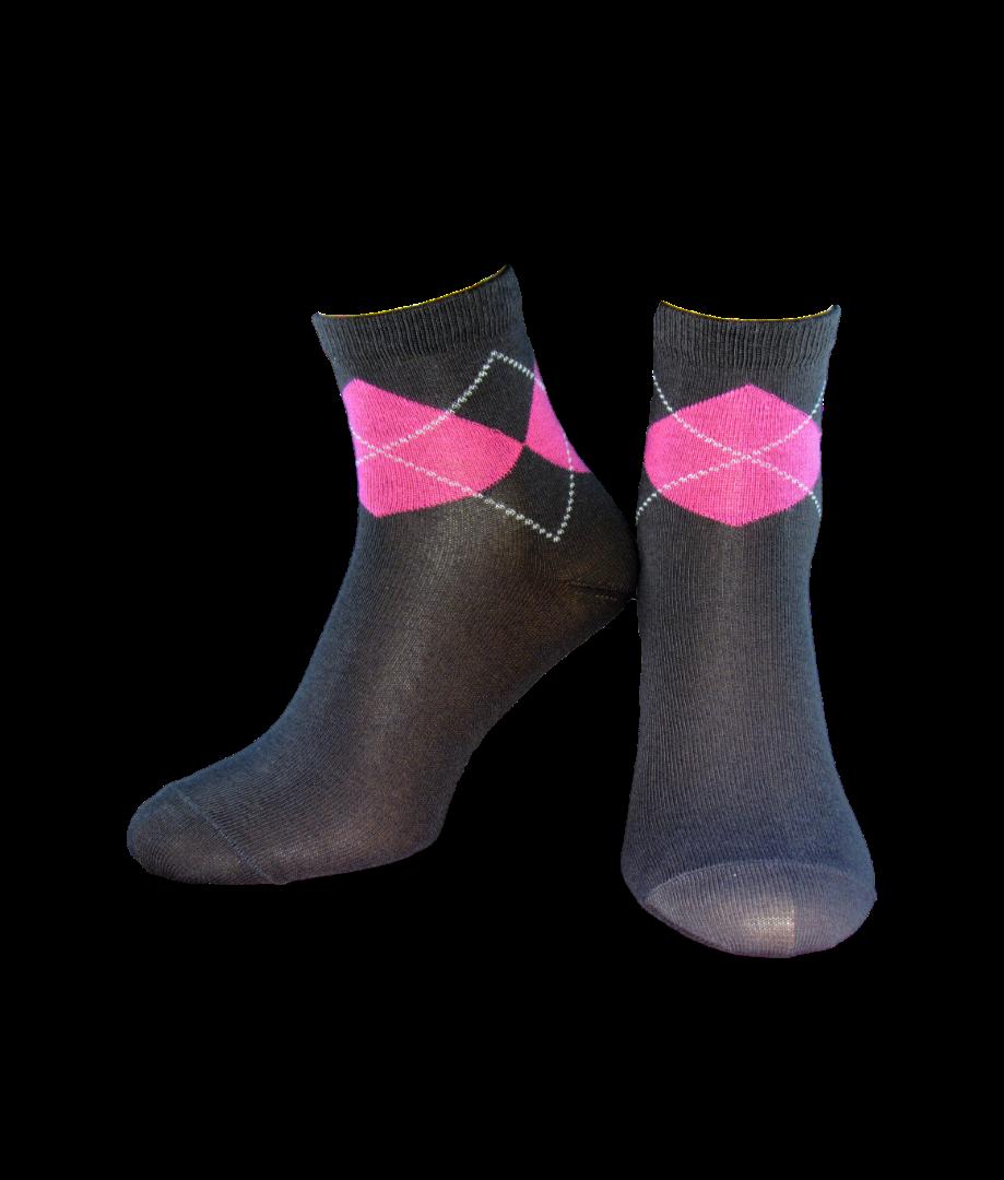 Носки женские Легка Хода 5241 Темно-серые