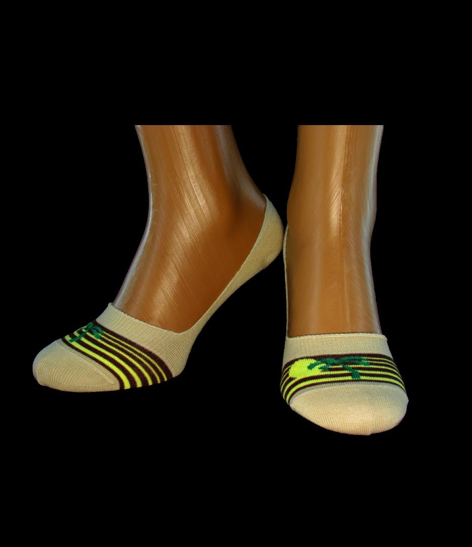 Носки коротки женские следы Легка Хода 5329 Бежевые