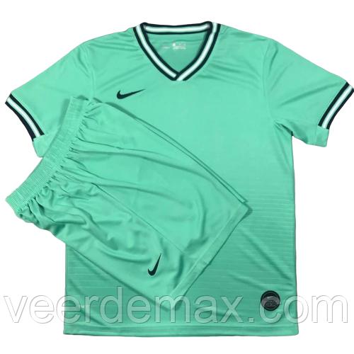Игровая футбольная форма игровая ( цвет - светло зеленый )