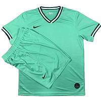 Игровая футбольная форма игровая Nike ( цвет - светло зеленый )