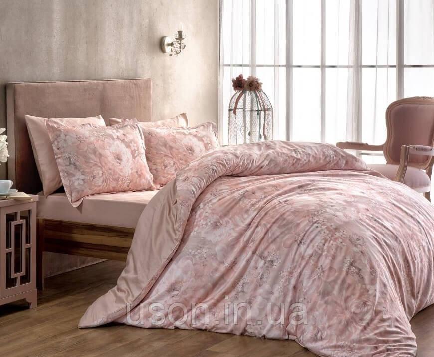 Комплект постельного  белья сатин tac digital семейный Blanche