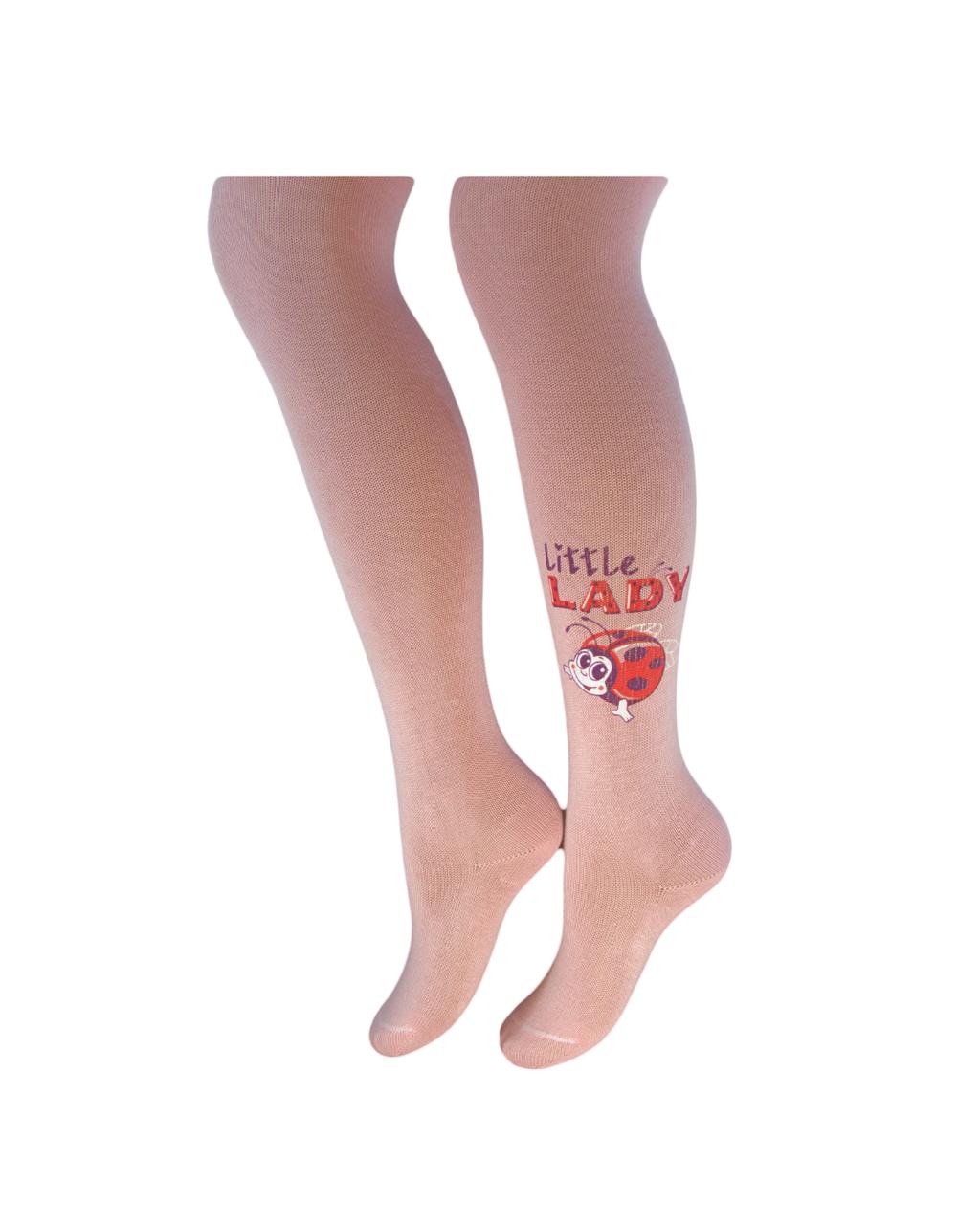 Детские колготки Легка Хода 8121 Светло-розовые