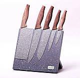 Набор ножей на подставке 6 пр Kamille KM-5047, фото 3