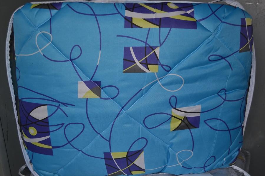 Одеяло закрытое овечья шерсть (Поликоттон) Двуспальное Евро T-51074