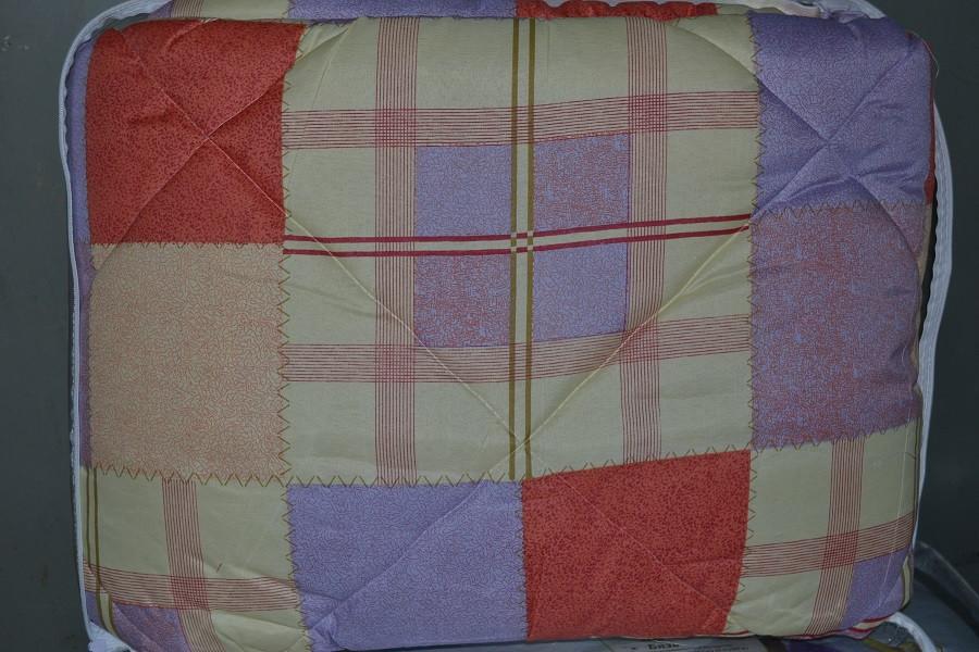 Одеяло закрытое овечья шерсть (Поликоттон) Двуспальное Евро T-51075