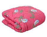 Одеяло закрытое овечья шерсть (Поликоттон) Двуспальное Евро T-51075, фото 3