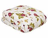 Одеяло закрытое овечья шерсть (Поликоттон) Двуспальное Евро T-51075, фото 4