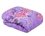 Одеяло закрытое овечья шерсть (Поликоттон) Двуспальное Евро T-51075, фото 9