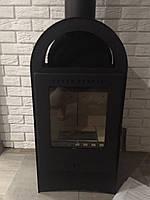 Каминофен на дровах BASEL II, Отопительная печка, современная буржуйка, фото 1