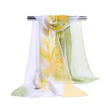 Женский шифоновый шарф - размер шарфа приблизительно 145*48см, 100% вискоза