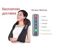 Массажер на липучках! 85W 6 кнопок ! для шеи, плеч, спины и поясницы