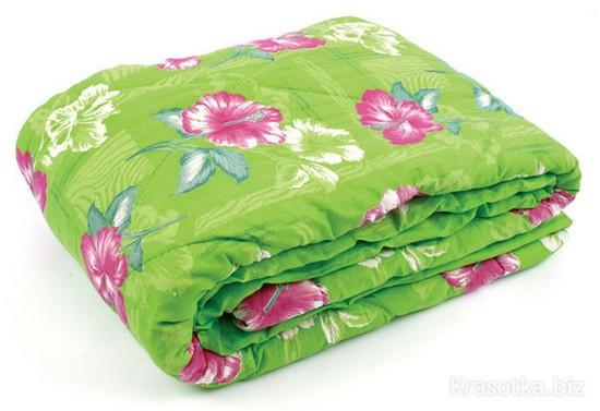 Одеяло закрытое овечья шерсть (Поликоттон) Полуторное T-51128
