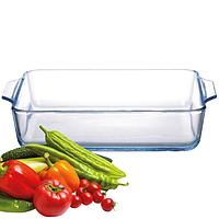 Форма для запекания из жаропрочного стекла, квадратная (16,5*16,5*4,5 см. 750 мл.)