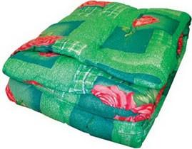 Одеяло закрытое овечья шерсть (Поликоттон) Полуторное T-51147