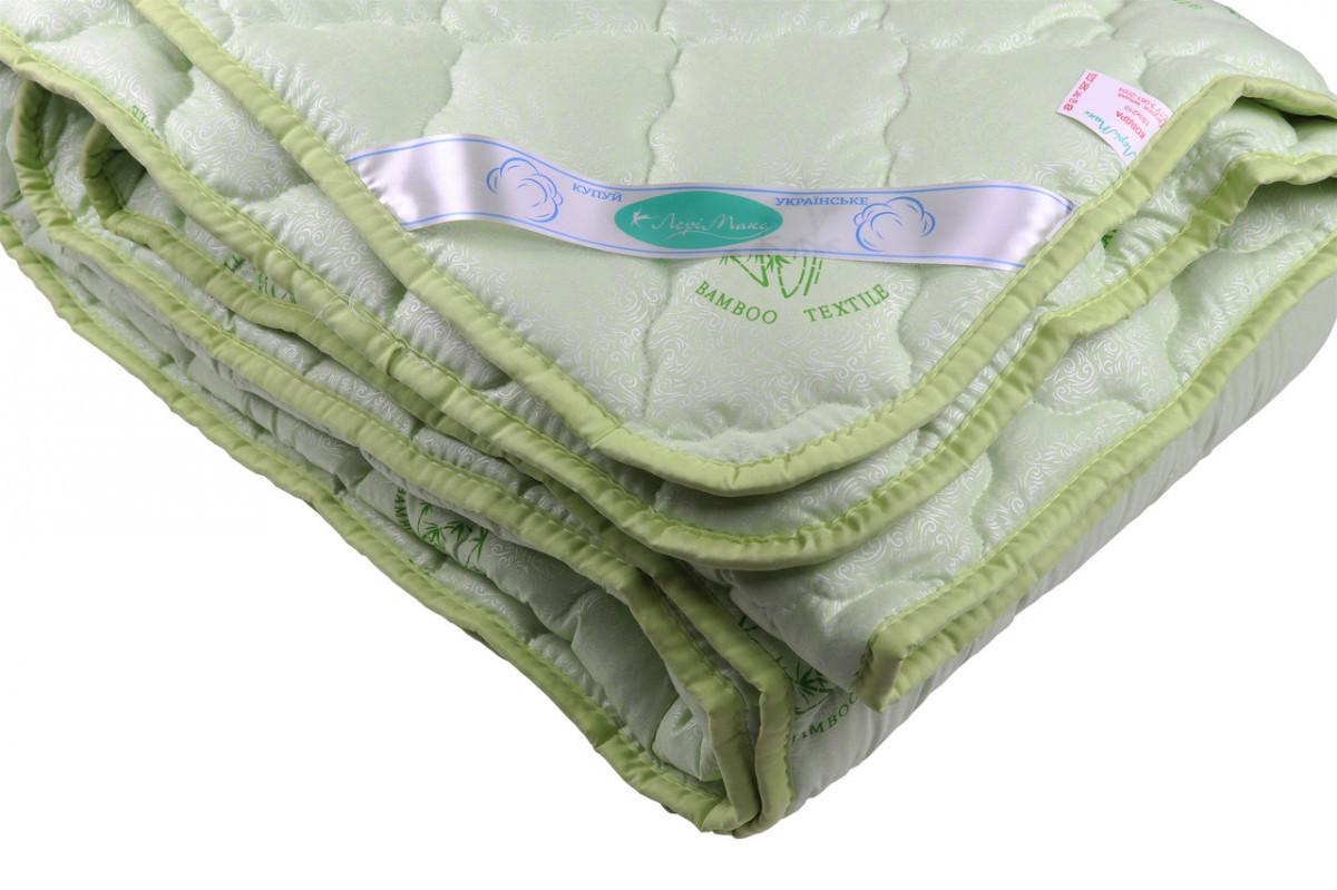Ковдра закрите однотонне бамбукове волокно (Мікрофібра) Двоспальне T-55036