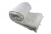 Одеяло закрытое однотонное искусственный лебяжий пух (Микрофибра) Полуторное T-55030