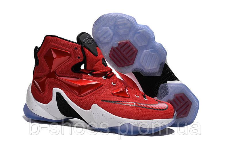 Мужские баскетбольные кроссовки Nike Lebron 13 (Red/White/Black)