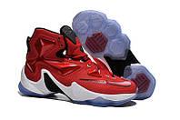 Мужские баскетбольные кроссовки Nike Lebron 13 (Red/White/Black), фото 1