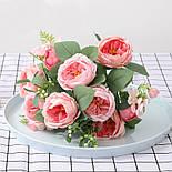 Пионовидная роза с ягодами  46 см, фото 3