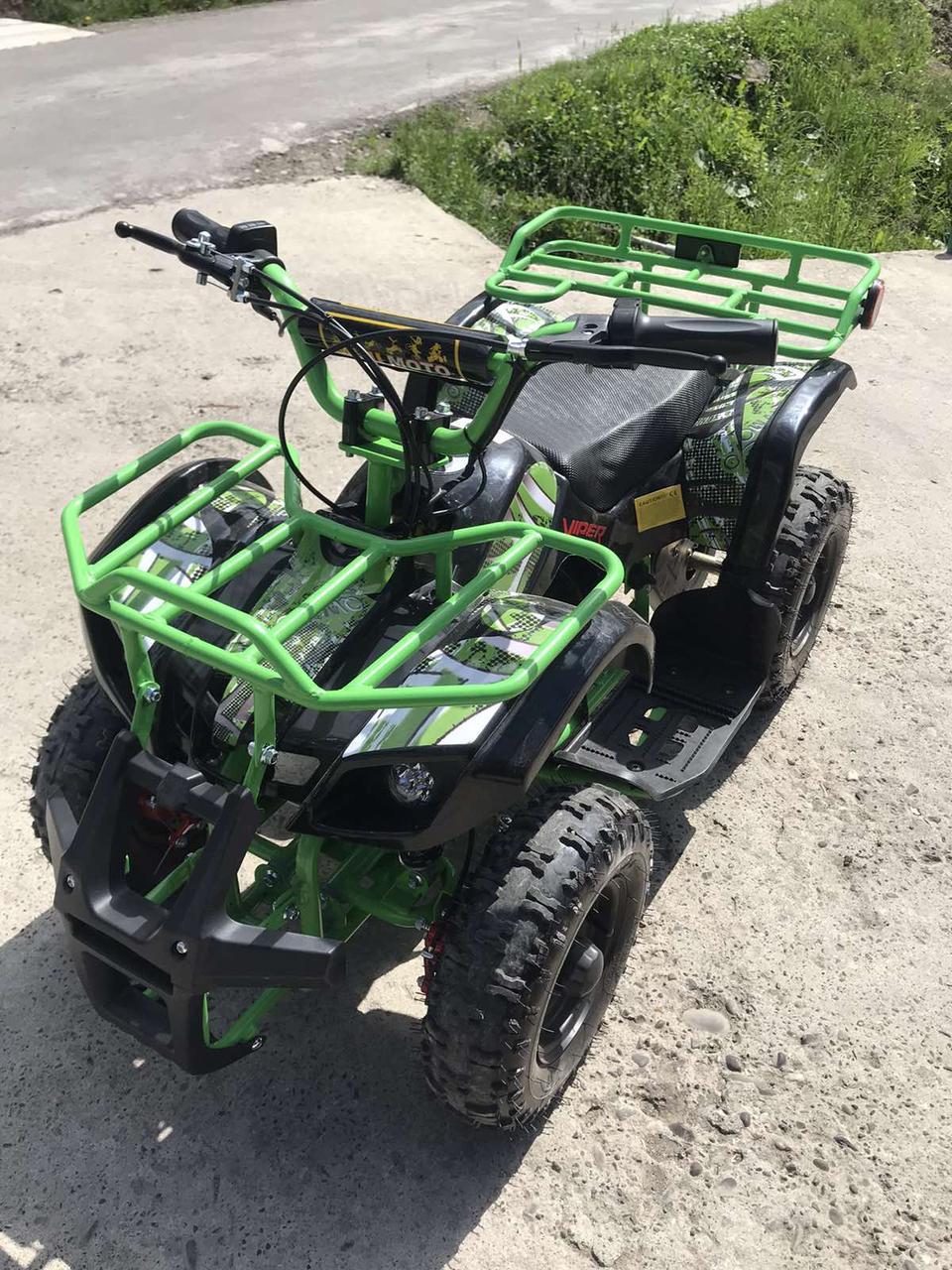 Квадроцикл электрический детский Кроссер NEW 36V 100W Новинка Акция!