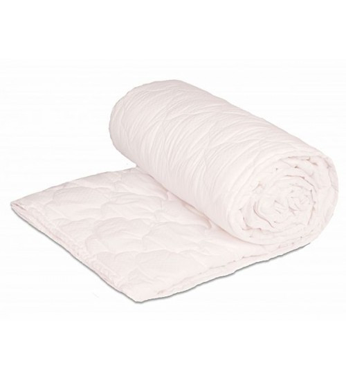 Одеяло закрытое однотонное холлофайбер (Микрофибра) Двуспальное Евро T-44817