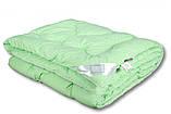 Одеяло закрытое однотонное холлофайбер (Микрофибра) Двуспальное Евро T-44817, фото 2
