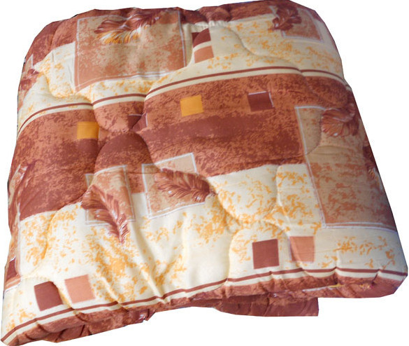 Одеяло летнее холлофайбер одинарное (поликоттон) Двуспальное T-51168