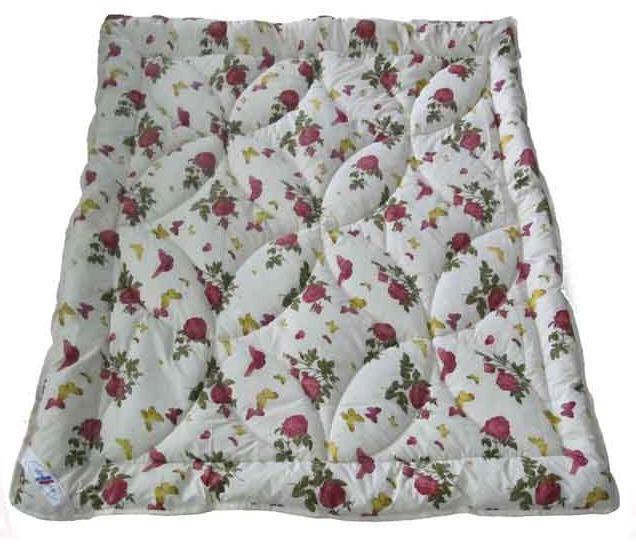 Одеяло летнее холлофайбер одинарное (поликоттон) Полуторное T-51185