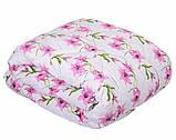 Одеяло летнее холлофайбер одинарное (поликоттон) Полуторное T-51185, фото 5