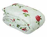 Одеяло летнее холлофайбер одинарное (поликоттон) Полуторное T-51185, фото 6