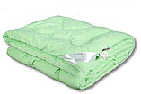 Одеяло летнее холлофайбер одинарное однотонное с узором (Микрофибра) Полуторное #1025, фото 2