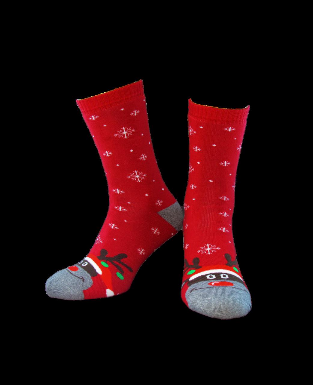 Носки женские Лонкаме 1522 001 Красные
