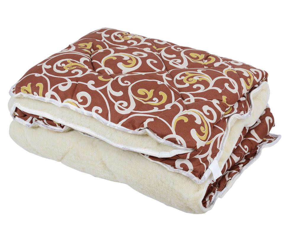 Одеяло Открытое овечья шерсть (Поликоттон) Полуторное T-51262