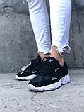 Кроссовки Adidas Falcon Black White, кроссовки адидас фалкон (41,42,44 размеры в наличии), фото 2