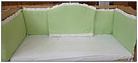 Защита бортики в детскую кроватку. Малятко