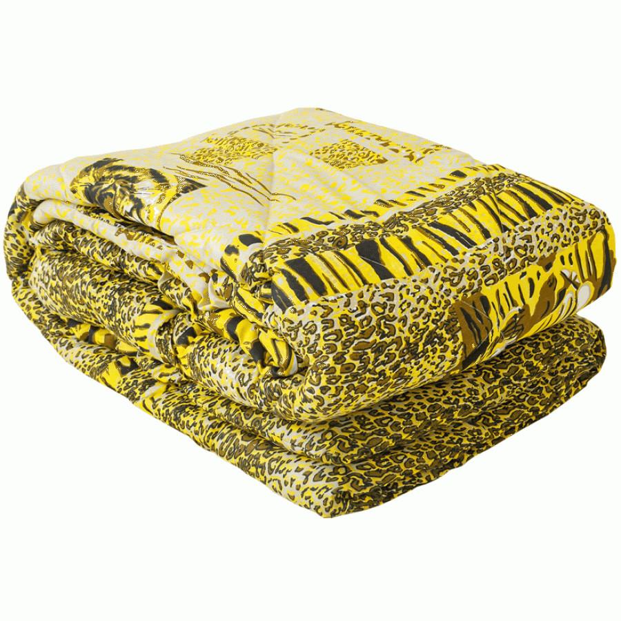 Силиконовое одеяло двойное (поликоттон) Двуспальное Евро T-44748