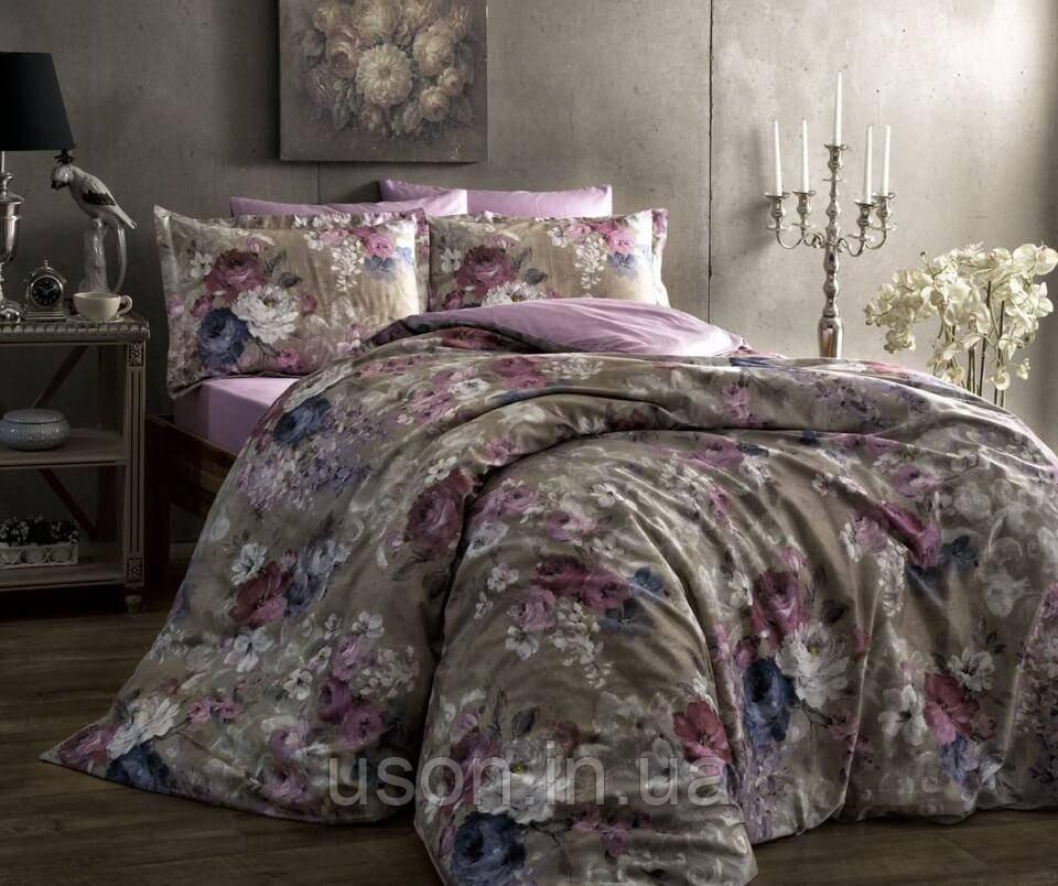 Комплект постельного белья Тм Тас сатин digital полуторный размер Jasmine