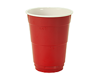 Стакан одноразовый пластиковый 400мл Party Cup упаковка 5 шт