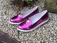 Туфлі жіночі з натуральної шкіри (лак) 36, 38, 39 роз.
