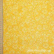 56009 Фоновая ткань с горохом (одуванчиковый желтый). Рукоделие, пэчворк, хендмэйд., фото 2