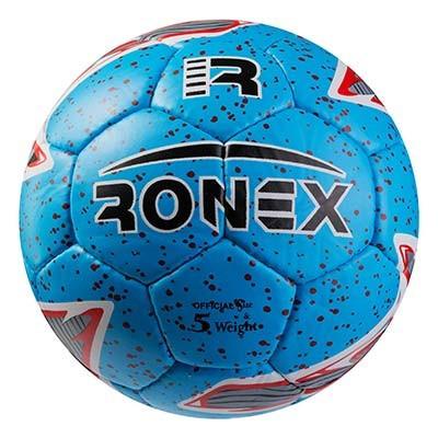 Мяч футбольный Grippy Ronex PM-62, голубой