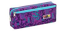 Пенал-косметичка два отделения Cool for school,фиолетовый CF86686-02