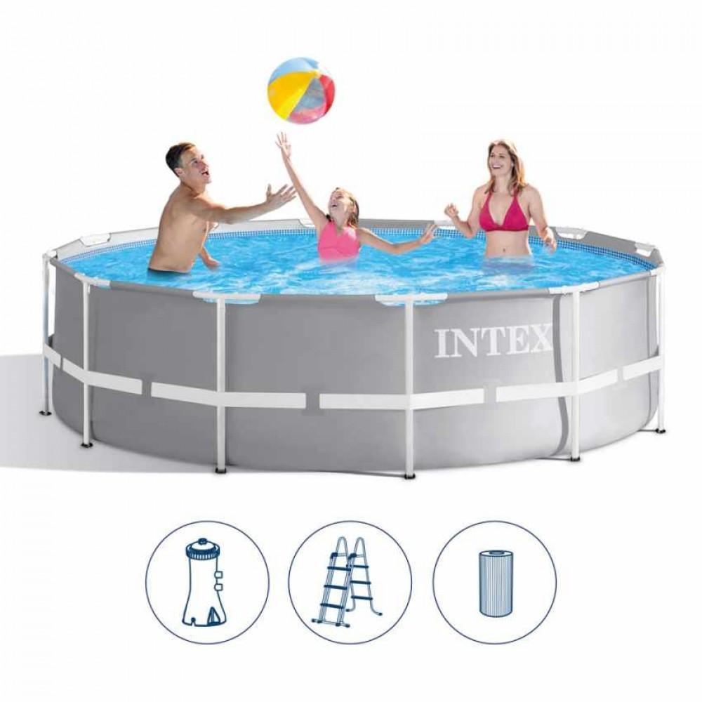 Бассейн каркасный Intex 8592 л / 366*99 см с фильтром