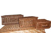 Набор чемоданов из лозы